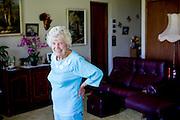 Agnus Marshall 98 in her home in Currumbin Queensland. (her number is 0755939901)