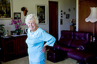 Agnus Marshall 98 in her home in Currumbin Queensland. (her number is 0755939901)