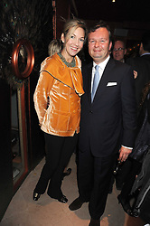 JORI WHITE and ALAN O'SULLIVAN at a party to celebrate the 10th birthday issue of Spears Wealth Management Survey held at Molton House, South Molton Street, London on 25th November 2008.