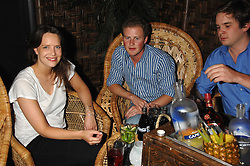 ARABELLA MUSGRAVE and GUY PELLY at a party to celebrate the launch of Independent (Formerly ICM) held at Mahiki, 1 Dover Street, London W1 on 17th September 2007.<br />
