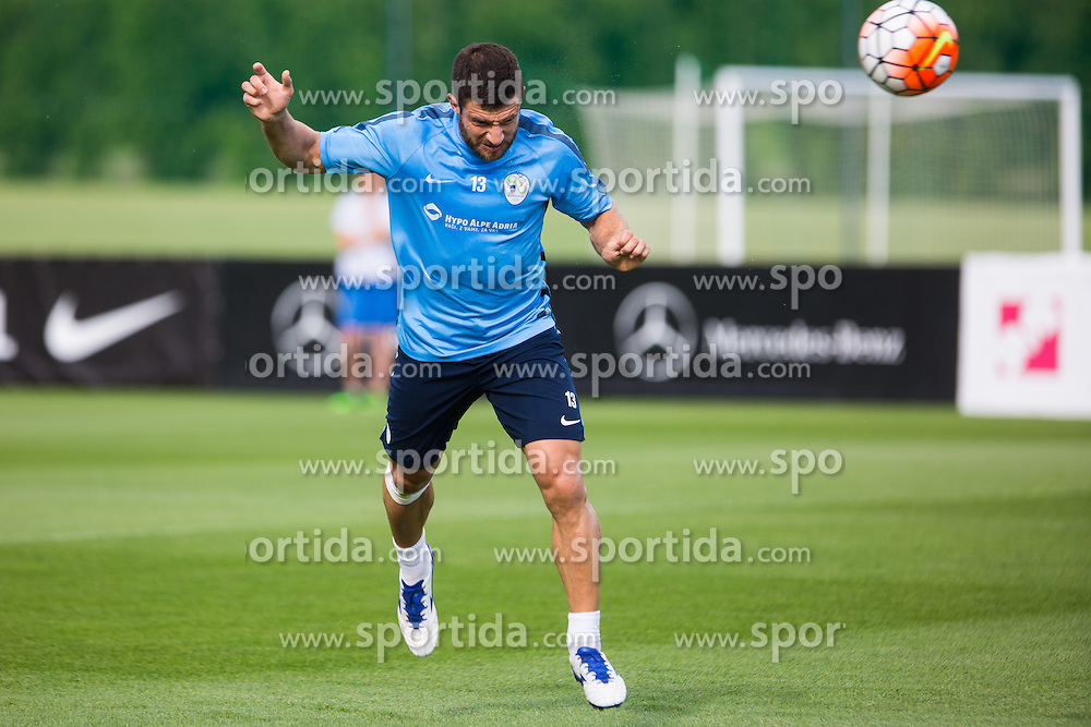 Bojan Jokic during practice session of Slovenian Football Team before friendly match against Turkey, on June 2, 2016 in Football centre Brdo pri Kranju, Slovenia. Photo by Ziga Zupan / Sportida