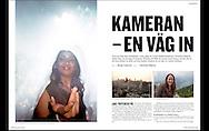 スエーデンの写真雑誌 &quot;Kamera &amp; bild&quot;<br /> クリスティーナ ショーグレンの特集記事<br /> 写真 左から<br /> インド、ボンベイでのナイトライフ、<br /> ボンベイの夕暮れの風景、(アパートメントの窓から)<br /> クリスティーナ ショーグレン