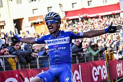 March 9, 2019 - Siena, Italia - Foto Gian Mattia D'Alberto / LaPresse.09-03-2019 Siena.Sportciclismo.Gara ciclistica Strade Bianche 2019 .nella foto: il vincitore Julian ALAPHLIPPPE (Fra, Deceuninck-QuickStep)..Photo Gian Mattia D'Alberto  / LaPresse.2019-03-09 SienaSportCycling.Strade Bianche 2019 .in the photo: the winner Julian ALAPHLIPPPE  (Credit Image: © Gian Mattia D'Alberto/Lapresse via ZUMA Press)