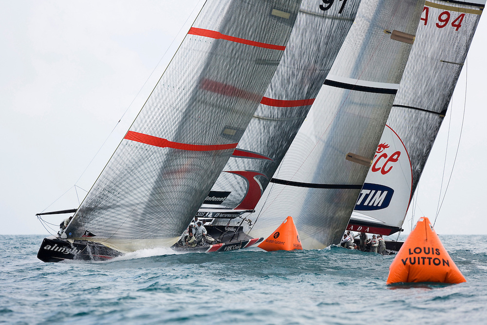 America's Cup/Louis Vuitton, Act 13, Race 5. 6/4/07, Valencia, Spain.