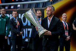 24-05-2017 SWE: Final Europa League AFC Ajax - Manchester United, Stockholm<br /> Finale Europa League tussen Ajax en Manchester United in het Friends Arena te Stockholm / De cup, trophy