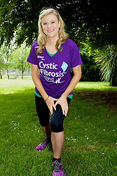 "Stars Line Out for Cystic Fibrosis Ireland, as Charity Fields one of Biggest Charity Contingents in VHI Women's Mini Marathon.<br /> <br /> <br /> <br /> Pictured warming up for the  VHI Women's Mini Marathon RTÉ's favourite weather presenter Nuala Carey.<br /> <br /> <br /> <br /> <br /> <br /> Date of issue: Monday June 6 2016<br /> RTÉ's favourite weather presenter Nuala Carey, TV3 Red Rock actor Ann Skelly and former model and dancer Emma Quinlan, were among the stars to line out for Cystic Fibrosis Ireland's ""One in 1,000"" appeal today as part of the VHI Women's Mini Marathon taking place in Dublin. The ladies joined more than one thousand others from all corners of the country who were taking part to raise funds for Cystic Fibrosis, in what was one of the biggest charity contingents to take part. <br /> <br /> Cystic Fibrosis Ireland, the national charity supporting people with cystic fibrosis and their families, is hoping to have raised €100,000 today with funds going to support its range of services for people with cystic fibrosis and their families. These include dedicated state-of-the-art cystic fibrosis facilities and patient support grants for exercise equipment, fertility treatment, transplant assessment, counselling and bereavement support.<br /> <br /> ""This is Personal""<br /> For Cystic Fibrosis Ireland ambassador, and Mini-Marathon 'veteran', Nuala Carey, cystic fibrosis is a cause very close to her heart:<br /> ""For me, supporting the cystic fibrosis cause is very personal as my own family has been directly touched by it. It's my fifth year to take part in the Mini Marathon for Cystic Fibrosis Ireland and, to be honest, my June bank holiday just wouldn't be the same without it. There's something really special about an event that sees so many people with their own cystic fibrosis stories come together for Team Cystic Fibrosis Ireland. For many, walking or running ten kilometres is far from a walk or run in the park, but they grin and bear through the blisters, the aches and the pains, to support their loved ones and friends. Of course, there's"
