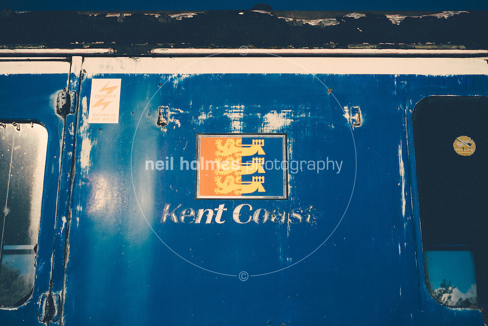 National Railway Museum, York, North Yorkshire, United Kingdom, 01 November, 2014. Pictured: Kent Coast Locomotive, Unit 4308 Ex 6077