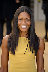 Arrivals for Burberry Prorsum Spring / Summer 2014. <br /> Naomie Harris arrives for the Burberry Prorsum Spring / Summer 2014 show, London, United Kingdom. Monday, 16th September 2013. Picture by Chris Joseph / i-Images