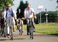 Assen ,07-07-2015 <br /> <br /> King Willem-Alexander cycled a part of 50th the Cycle 4 Days of Assen<br /> <br /> Royalportraits Europe/Bernard Ruebsamen