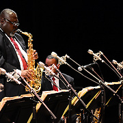 Sherman Irby performs with Wynton Marsalis and the Jazz at Lincoln Center Orchestra at The Music Hall in Portsmouth, NH. June, 2013