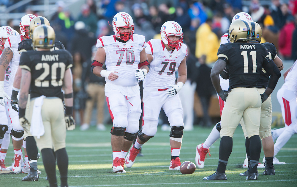 The Rutgers Scarlet Knights take on Army at Michie Stadium in West Point, NY on Saturday, November 21, 2015.<br />