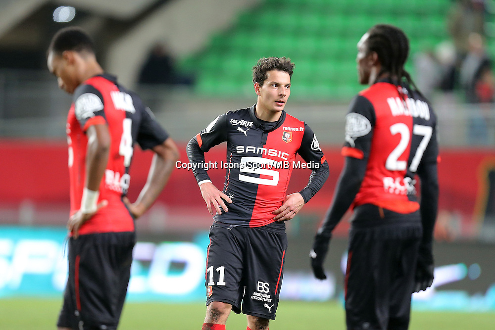 Philipp HOSINER   - 25.01.2015 - Rennes / Caen  - 22eme journee de Ligue1<br />