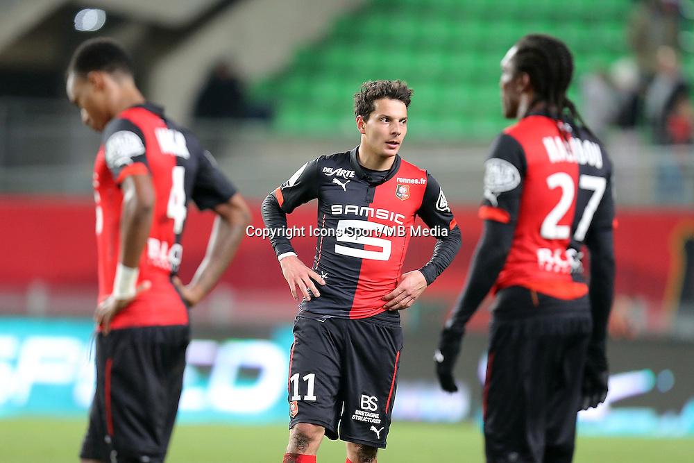 Philipp HOSINER   - 25.01.2015 - Rennes / Caen  - 22eme journee de Ligue1<br />Photo : Vincent Michel / Icon Sport