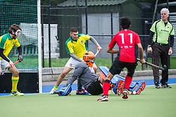 Indian Gymkhana v Southgate  - Men's Hockey league - East Conference, The Arena, London, UK on 18 March 2017. Photo: Simon Parker
