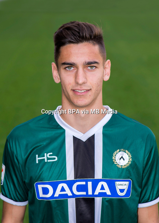 Italian League Serie A -2015-2016 / <br /> ( Udinese Calcio ) - <br /> Alex Meret
