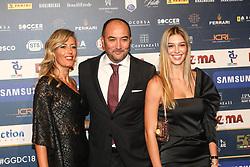 December 3, 2018 - Milan, Italy - Barbara Mietti and Pierluigi Casiraghi  at 'Oscar Del Calcio AIC' Italian Football Awards photocall in Milano, Italy, on December 03 2018  (Credit Image: © Mairo Cinquetti/NurPhoto via ZUMA Press)