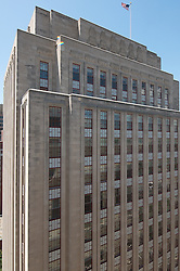 The Eli Apartments from Courthouse Roof, New Haven CT. Former Historic SNET Headquarter Building and an Art Deco Treasure.