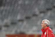 CAPE TOWN, SOUTH AFRICA - 13 JUNE 2010, Italian coach Marcello Lippi during Italy's training session held at the Cape Town Stadium. Italy play Paraguay in Match 11 of the 2010 FIFA World Cup on Monday 14 June 2010. Photo by: Shaun Roy/Sportzpics