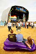 Gloabal Gathering festival 2005, Long Marston Airfield, Stratford Upon Avon. UK. July 2005
