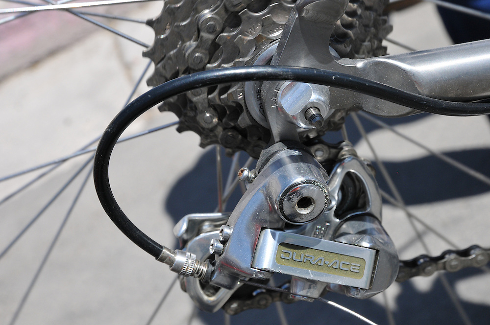 Vintage Shimano Rear Derailleur - Spring 2012 Bicycle Swap Meet - Tucson, Arizona. BIke-tography by Martha Retallick.
