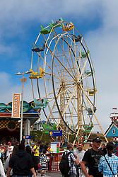 Ferris wheel, Santa Cruz Boardwalk, Santa Cruz, California, United States of America