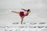 KELOWNA, BC - OCTOBER 26: Canadian figure skater Alicia Pineault competes during the ladies long program of Skate Canada International held at Prospera Place on October 26, 2019 in Kelowna, Canada. (Photo by Marissa Baecker/Shoot the Breeze)
