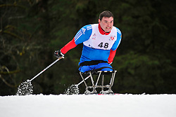 ZARIPOV Irek, RUS at the 2014 IPC Nordic Skiing World Cup Finals - Long Distance