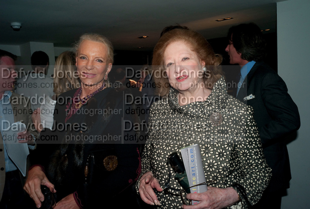 Princess Michael of Kent; Princess Alexandra Romanoff, Benno Graziani: Memories Of Summer, Hamiltons Gallery. London. 16 September 2009.