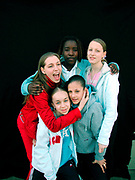 Group of girls London 2000