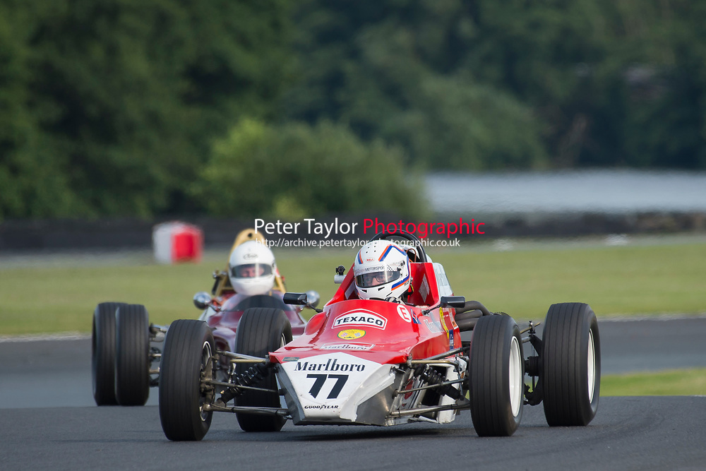 #77 Phil Attwood Crossle 32F 1600  during Lunar Logistics Classic Formula Ford 1600 as part of the BARC National Car and Kart Championships Race Day at Oulton Park, Little Budworth, Cheshire, United Kingdom. July 08 2017. World Copyright Peter Taylor/PSP. Copy of publication required for printed pictures.  Every used picture is fee-liable. http://archive.petertaylor-photographic.co.uk