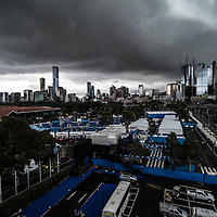 A general view of the grounds ahead of the 2017 Australian Open at Melbourne Park on January 13, 2017 in Melbourne, Australia.<br /> (Ben Solomon/Tennis Australia)