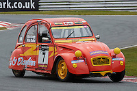 #7 Nicholas CLARKE Citroen 2CV 602 during 2CVParts.com Classic Championship as part of the BARC NW - Championship Raceday  at Oulton Park, Little Budworth, Cheshire, United Kingdom. March 19 2016. World Copyright Peter Taylor/PSP. Copy of publication required for printed pictures.  Every used picture is fee-liable.