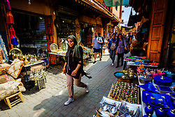 General scene in the medina in Marrakech, Morocco, North Africa<br /> <br /> (c) Andrew Wilson | Edinburgh Elite media