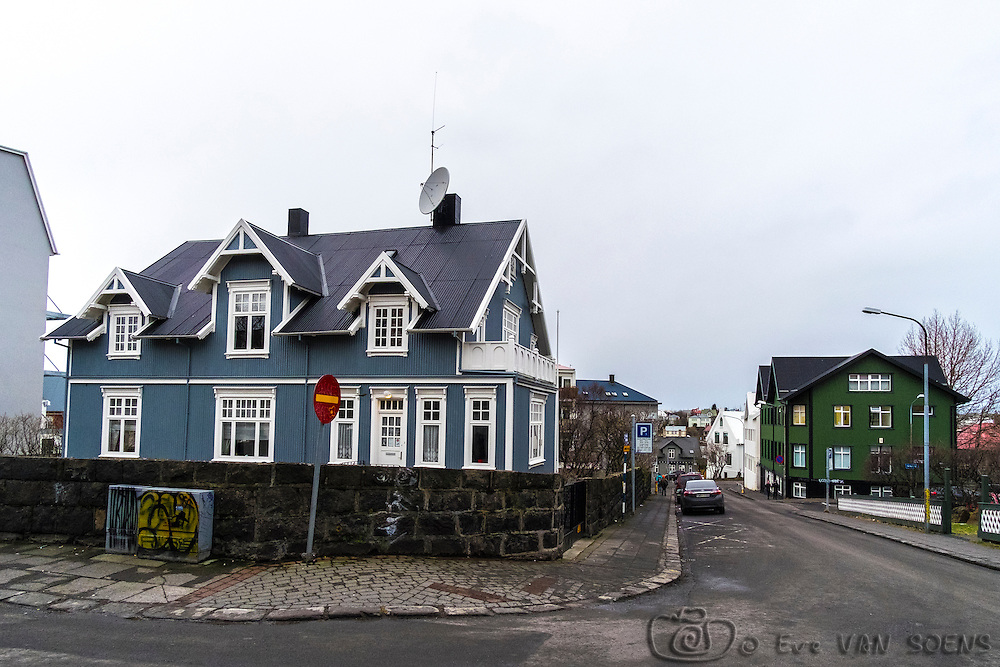 Wandering in the streets of Reykjavik
