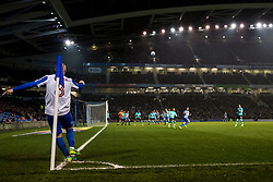 Jiri Skalak of Brighton & Hove Albion takes a corner kick - Mandatory by-line: Jason Brown/JMP - 10/03/2017 - FOOTBALL - Amex Stadium - Brighton, England - Brighton and Hove Albion v Derby County - Sky Bet Championship