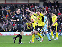 Photo: Richard Lane/Richard Lane Photography. Watford v Derby County. Coca Cola Championship. 12/12/2009. <br />