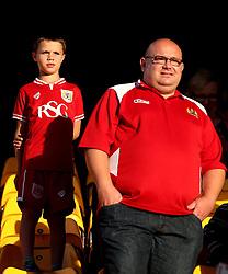 Bristol City fans - Mandatory by-line: Robbie Stephenson/JMP - 16/08/2016 - FOOTBALL - Carrow Road - Norwich, England - Norwich City v Bristol City - Sky Bet Championship