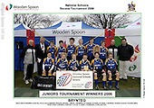 National Schools 7s 2006. Tuesdays winners and runners up official photos