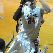 New Hanover's Brian Howell shoots against Ashley Friday December 19, 2014 at New Hanover High School in Wilmington, N.C. (Jason A. Frizzelle)