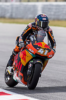 rides during free practice for the Moto2 of Catalunya at Circuit de Catalunya on June 9, 2017 in Montmelo, Spain.(ALTERPHOTOS/Rodrigo Jimenez) Brad Binder of South Africa and Redbull KTM Team