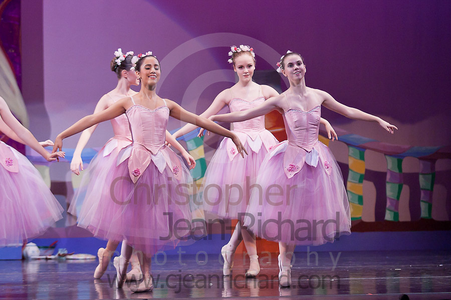 Woodlands Ballet Ensemble.Nutcracker 2011.Evening Dress Rehearsal