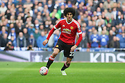 Marouane Fellaini of Manchester United during the The FA Cup semi final match between Everton and Manchester United at Wembley Stadium, London, England on 23 April 2016. Photo by Phil Duncan.