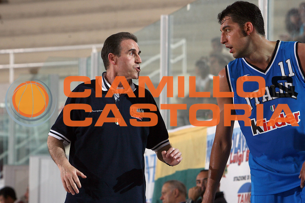 DESCRIZIONE : Rieti Torneo Internazionale Lazio 2006<br /> GIOCATORE : Recalcati Garri<br /> SQUADRA : Italia<br /> EVENTO : Rieti Torneo Internazionale Lazio 2006<br /> GARA : Italia Venezuela<br /> DATA : 20/06/2006 <br /> CATEGORIA : <br /> SPORT : Pallacanestro <br /> AUTORE : Agenzia Ciamillo-Castoria/E.Castoria