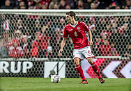 FOOTBALL: Andreas Christensen (Denmark) during the World Cup 2018 UEFA Qualifier Group E match between Denmark and Romania at Parken Stadium on October 8, 2017 in Copenhagen, Denmark. Photo by: Claus Birch / ClausBirch.dk.