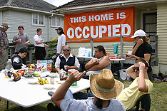 Auckland-Protests as tenant evicted after 30 years from Taniwha Street home, Glen Innes
