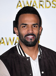 Craig David attending the BBC Music Awards at the Royal Victoria Dock, London. PRESS ASSOCIATION Photo. Picture date: Monday 12th December, 2016. See PA Story SHOWBIZ Music. Photo credit should read: Ian West/PA Wire