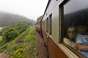 Train from George to Knysna