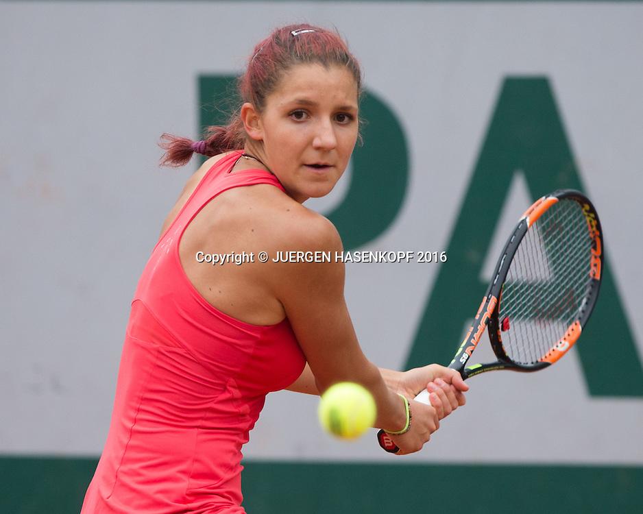 Rebeka Masarova (SUI) Junior Girls<br /> <br /> Tennis - French Open 2016 - Grand Slam ITF / ATP / WTA -  Roland Garros - Paris -  - France  - 29 May 2016.