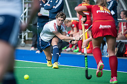 England's Sally Walton. England v Belgium, Bisham Abbey, Marlow, UK on 09 May 2014. Photo: Simon Parker