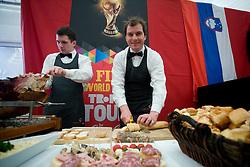 Robert Renninger Pesca of Glazuta Restaurant at VIP reception of FIFA World Cup Trophy Tour by Coca-Cola, on March 29, 2010, in BTC City, Ljubljana, Slovenia.  (Photo by Vid Ponikvar / Sportida)